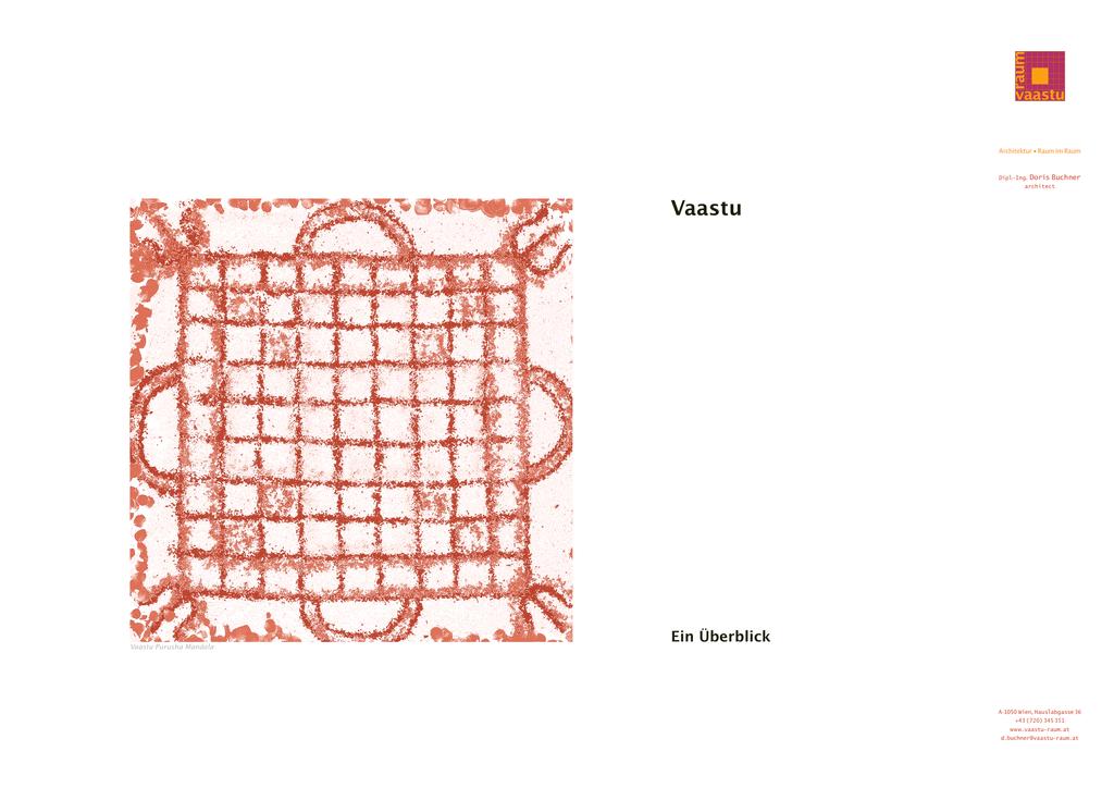 Vaastu-Architektur, Ein Überblick - vaastu-raum