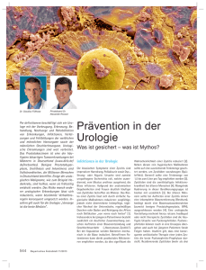 Prävention in der Urologie
