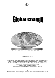 Global Change - LISE