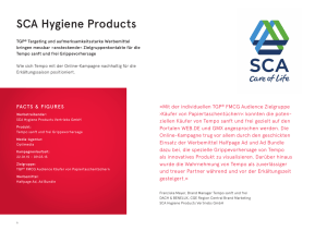 SCA Hygiene Products - United Internet Media