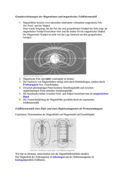 magnetfeld erde umpolung