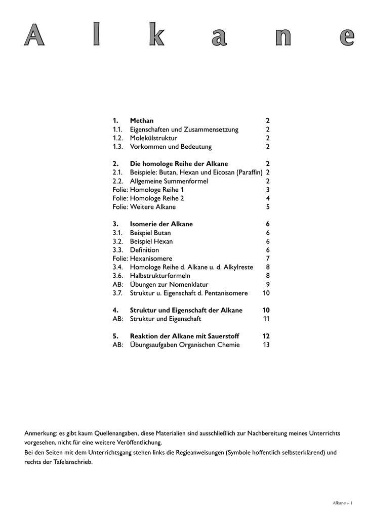 Wunderbar Benennung Alkane Arbeitsblatt 1 Galerie - Arbeitsblätter ...