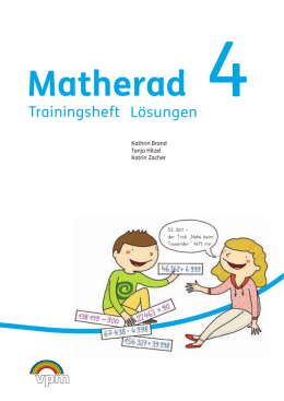 Lösungen Trainingsheft 4