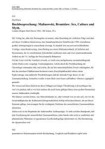 Malinowski, Bronislaw: Sex, Culture and Myth.