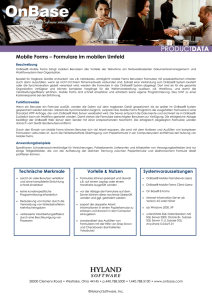 Mobile Forms Datasheet_GER