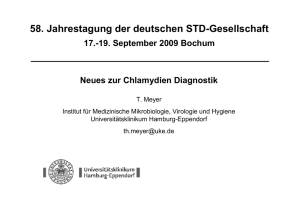 Neues zur Chlamydien Diagnostik