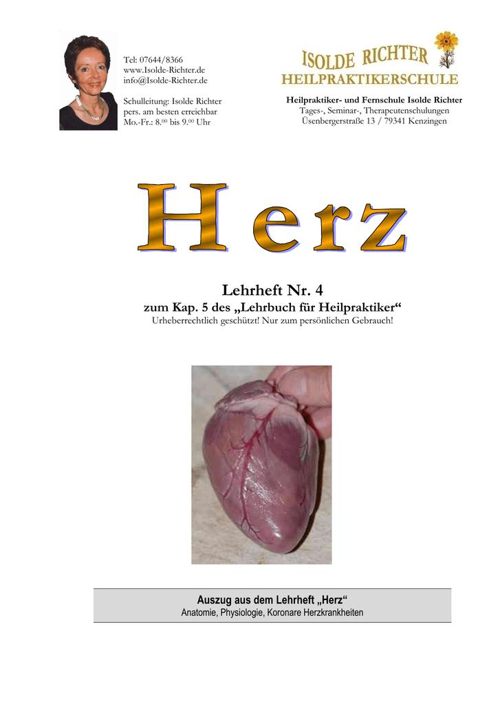 Ausgezeichnet Koronare Anatomie Und Physiologie Bilder - Menschliche ...