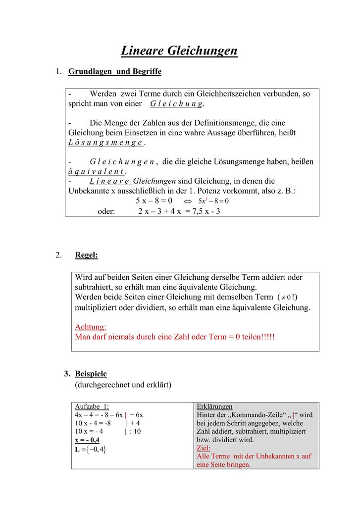 Wunderbar Schritt Eins Und Zwei Gleichungen Arbeitsblatt Bilder ...