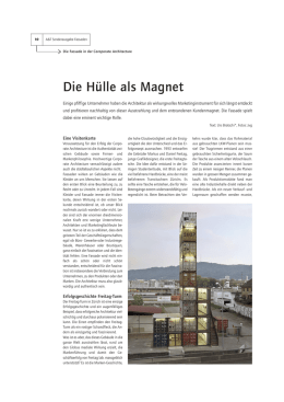 Die Hülle als Magnet - Award für Marketing + Architektur