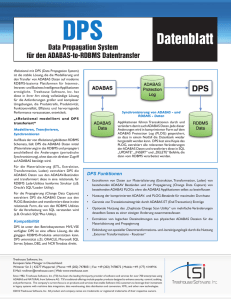 Datenblatt - Treehouse Software