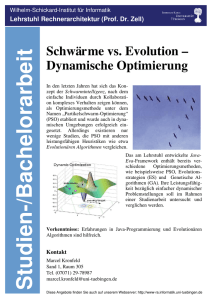 Schwärme vs. Evolution
