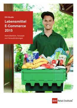 Lebensmittel E-Commerce 2015 - EHI-Shop