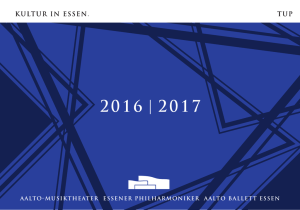 2016 | 2017 - Theater Essen
