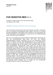 five sensitive men öea | ua
