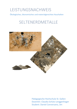 Seltenerdmetalle - PHSG Blog Sites