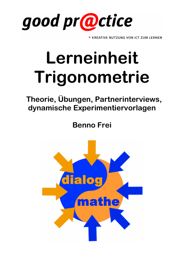 2 Trigonometrie am rechtwinkligen Dreieck