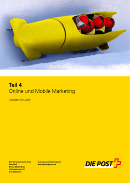 DirectExpert, Teil 4, Online Marketing - CRM