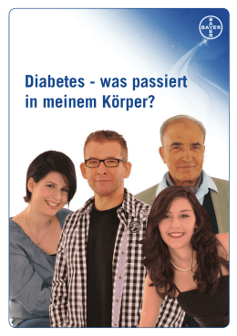 Diabetes - Ascensia Diabetes Care Switzerland AG
