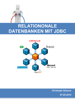 Relationale Datenbanken mit JDBC