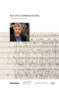 Roche Commissions 2004 Sir Harrison Birtwistle