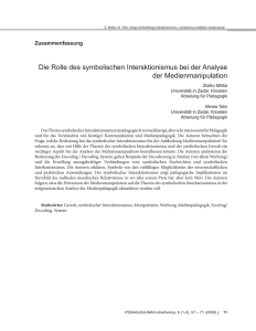 Fulltext: , German, Pages 71
