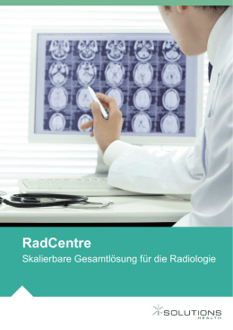 RadCentre - i-SOLUTIONS Health GmbH