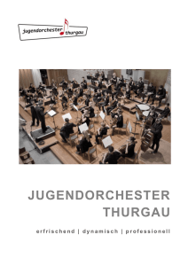 JOTG Konzerte Sep.2016 - Jugendorchester Thurgau