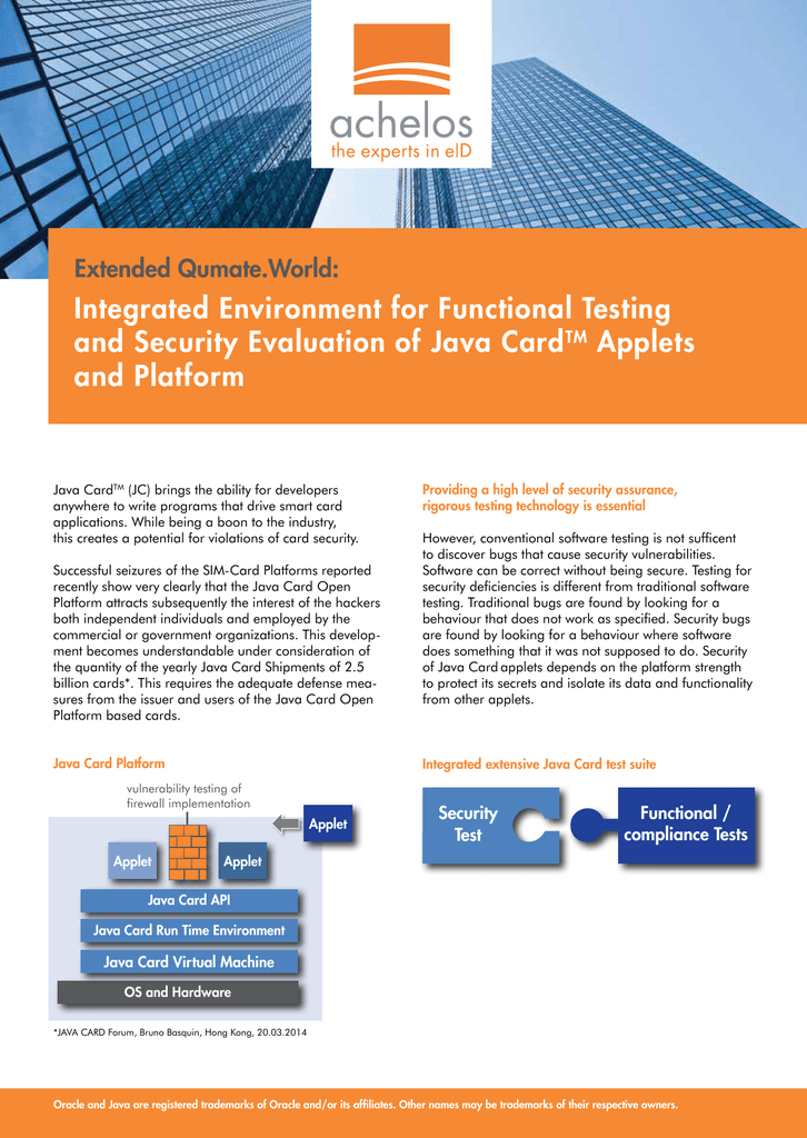 Integrated Environment for Functional Testing and Security
