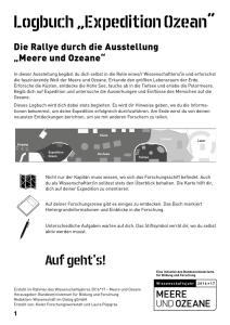 "Logbuch ""Expedition Ozean"