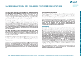 Periphere Neuropathien