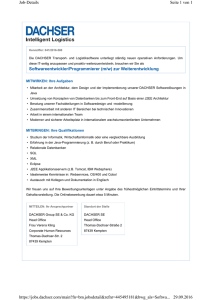 Softwareentwickler/Programmierer (m/w) zur - WiMa