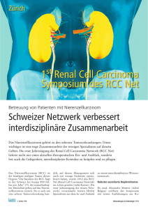 1 Renal Cell Carcinoma Symposium des RCC Net