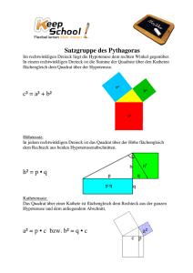 aufgaben zur satzgruppe des pythagoras. Black Bedroom Furniture Sets. Home Design Ideas
