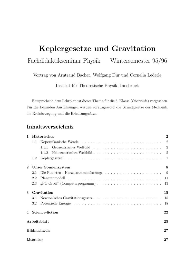 Schön Kreisbewegung Und Der Gravitation Arbeitsblatt Fotos - Super ...