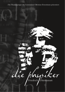 die physiker - GCE Bayreuth