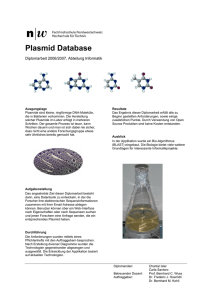 Plasmid Database