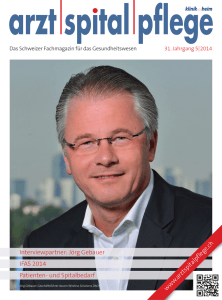 Interviewpartner: Jörg Gebauer IFAS 2014 Patienten