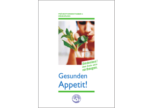 Appetit! - German Cancer Research Center
