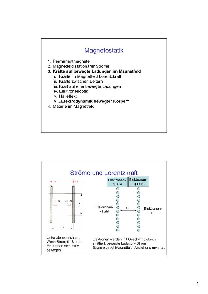 21 Elektromagnetismus und Relativitaet
