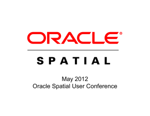 How Mokia Uses Oracle Spatial to Create the NAVTEQ Map