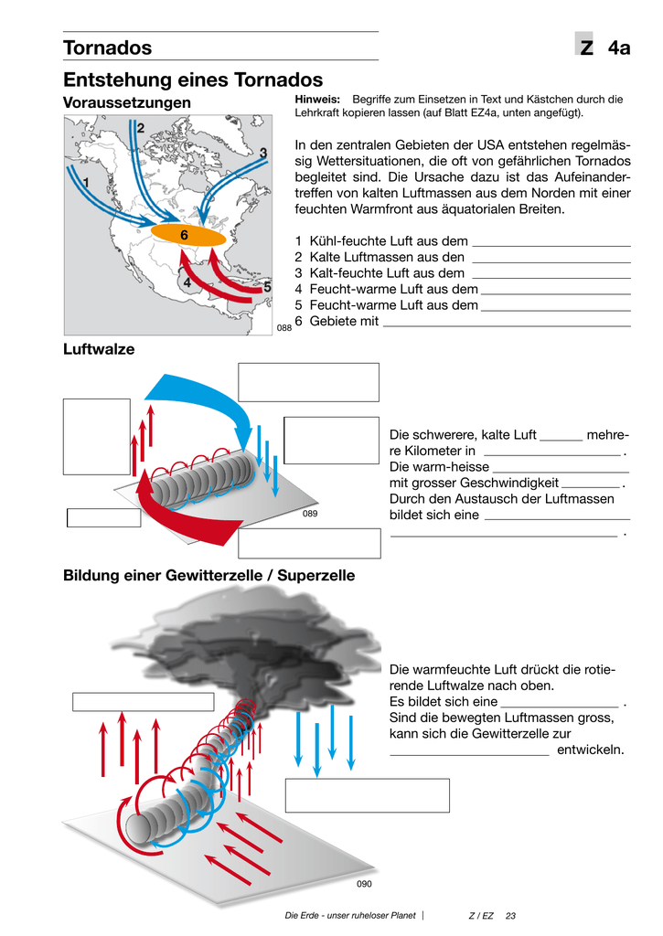 Z Tornados 4a Entstehung eines Tornados
