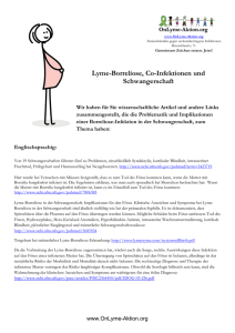 Lyme-Borreliose, Co-Infektionen und