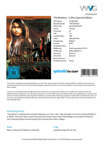 The Restless - 2-Disc Special-Edition Marketing Facts Stab Cast