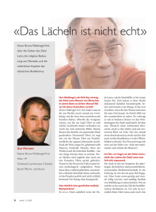 Interview mit dem Autor