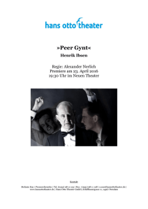 Peer Gynt - Hans Otto Theater