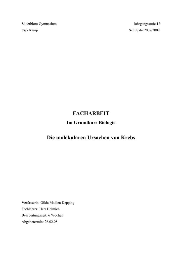 Nett Anatomie Und Physiologie Von Krebs Galerie - Menschliche ...