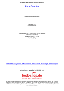 Pierre Bourdieu - ReadingSample - Beck-Shop