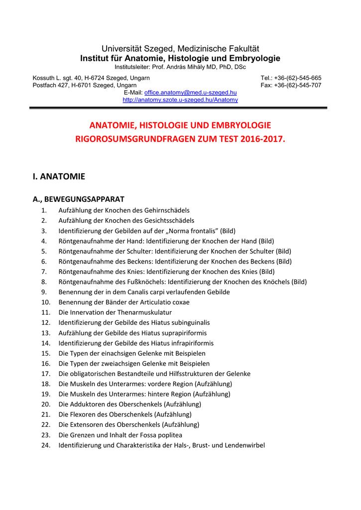 Gemütlich Anatomie Und Embryologie Galerie - Anatomie Von ...