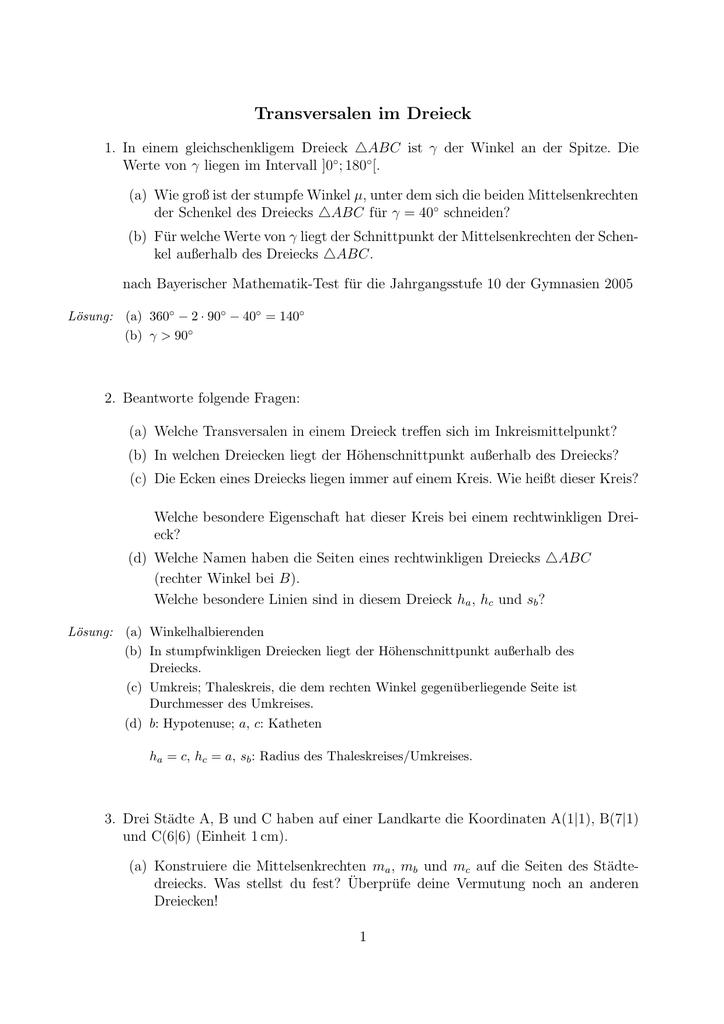 Groß Wie Man Mymaths Antworten Galerie - Mathematik & Geometrie ...
