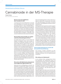 Cannabinoide in der MS-Therapie